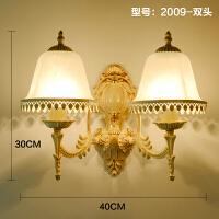 壁灯床头灯现代简约创意卧室欧式美式墙壁灯客厅楼梯过道走廊灯具