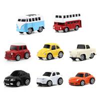 合金回力车8件套儿童玩具车惯性回力玩具汽车套装