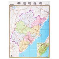 福建省地图 尼龙绸 0.85x1.2米 高清精美彩印 *收藏 骑行自驾游地图携带方便