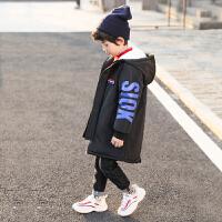 儿童中长款棉衣外套冬季2018新款厚款冬季棉袄男孩