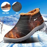 回力棉鞋男冬季加绒保暖鞋子男士棉靴中老年爸爸鞋老人鞋雪地靴男