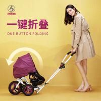 婴儿手推车宝宝童车自行车儿童三轮车脚踏车1-3岁折叠车子