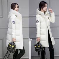棉衣女中长款韩版2017新款冬装宽松学生中款女冬季外套棉袄潮