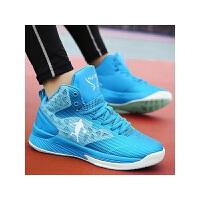 夏季篮球鞋男高帮运动鞋男鞋透气耐磨减震学生战靴蓝球鞋子球鞋男