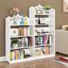 【满199减100】御目 书架 创意落地学生经济型组合儿童书柜简易多层置物收纳储物整理架子家具用品