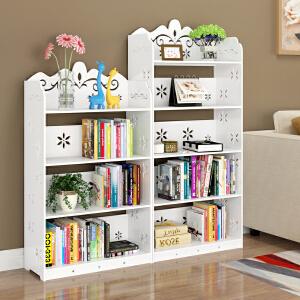 书架 创意落地学生经济型组合书柜简易多层置物收纳储物整理架子家具用品