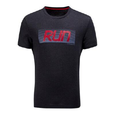 361度简约百搭 男款圆领短T恤 跑步系列