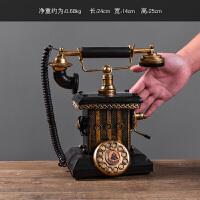 创意复古电话机模型摆件家居装饰品服装店铺柜台摆设道具工艺品