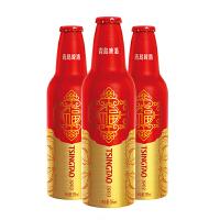 青岛啤酒鸿运当头11度355ml*12瓶整箱铝瓶装