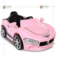 儿童电动车四轮双驱遥控汽车带摇摆可坐宝宝小孩玩具童车