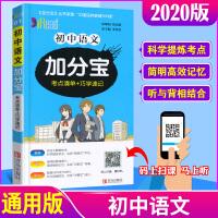 加分宝初中语文 2020通用版中考专项复习