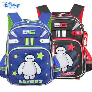 迪士尼大白小学生1-3年级儿童卡通双肩减负透气书包IB0019