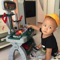 儿童仿真过家家螺丝刀修理工具箱玩具套装3-4-5岁男孩维修台宝宝