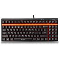 雷柏(Rapoo)V500 机械游戏键盘 性价比较高的机械键盘,USB接口 游戏办公双享受
