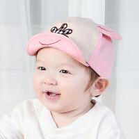 春秋男女宝宝帽子儿童棒球鸭舌帽1-2岁遮阳帽