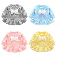 婴儿衣服秋季1岁6个月女宝宝裙子新生儿连衣裙女童公主裙秋冬装