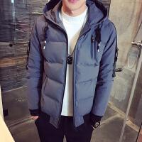 棉衣男外套冬季青年韩版棉袄冬天潮流修身短款棉服连帽加厚冬装男