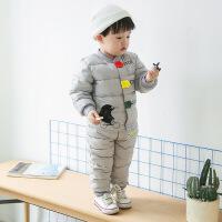 反季冬装儿童羽绒服两件套轻薄款男童女童宝宝羽绒内胆套装加厚