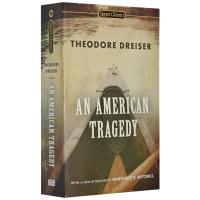正版 An American Tragedy 美国悲剧 英文原版小说 经典文学名著 电影原著小说 Theodore Dr