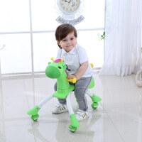儿童溜溜车小孩扭扭车1-3岁宝宝滑行车学步车带音乐