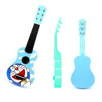 创玩 木制吉他儿童玩具吉他 民谣可弹奏6弦12声 启蒙乐器 新年生日礼物宝宝兴趣培养 送背带