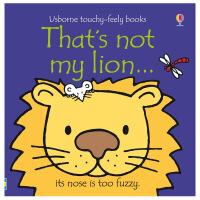 That's not my lion狮子  英文原版儿童趣味读物 幼儿启蒙触摸书