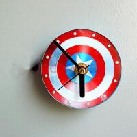 创意立体磁性挂式钟表冰箱贴磁铁粘贴钟静音挂钟 中