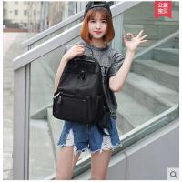 新款韩版休闲书包大包时尚双肩包女韩学院风版牛津布女包背包 可礼品卡支付