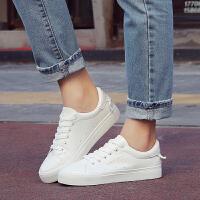 环球 2017新款百搭韩版休闲板鞋系带学生小白鞋