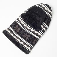 帽子男冬天毛线帽冬季男士针织帽保暖青年护耳棉帽