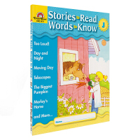 Evan-Moor Stories To Read Words to Know Level J 美国加州教辅 阅读学词