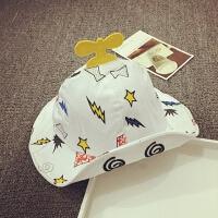 宝宝帽子夏天遮阳帽渔夫帽布帽折叠太阳帽男女儿童盆帽小孩大沿帽