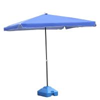 户外大号遮阳伞大型四方摆摊太阳伞沙滩伞折叠雨伞方形庭院伞3米