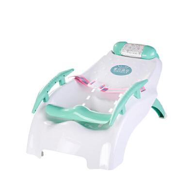 【支持礼品卡】宝宝洗头椅儿童可折叠躺椅凳小孩洗头床加大号婴儿洗发架洗头神器q3o 原生PP材质 可折叠加大加厚