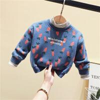 男女童冬装卫衣小童上衣宝宝打底衫