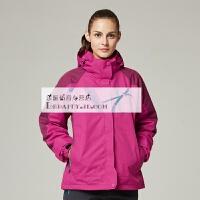 201804162420467冲锋衣男三合一秋冬季防水透气两件套男女士西藏旅游登山服外套