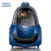 飞利浦(PHILIPS)吸尘器 家用无尘袋大功率吸尘机 星空蓝FC8471/81-3个吸嘴-1400w