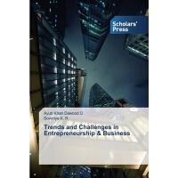 【预订】Trends and Challenges in Entrepreneurship & Business