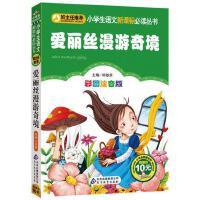 爱丽丝漫游奇境记正版书注音版彩图儿童书籍三年级7-10岁小学生二