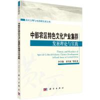 中部农区特色文化产业集群发展理论与实践