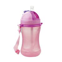 【当当自营】BABISIL贝儿欣 吸管水壶360ml 粉红 水壶/水杯/吸管杯