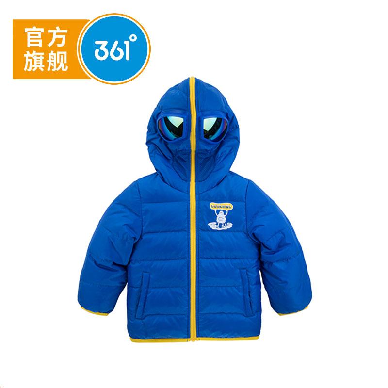 361° 361度童装 男童羽绒服冬季新款儿童羽绒服男童外套K51744913全店满2件包邮