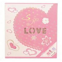 德源相册LOVE镂空系列6寸200张插页式相册影集 8902