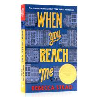 When You Reach Me 当你到达我 英文版原版小说 美国进口 企鹅兰登出版社 纽伯瑞儿童文学奖金奖书集 平