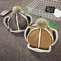 儿童帽子冬天保暖护耳帽东北帽男女宝宝帽子雷锋帽加绒加厚韩版潮