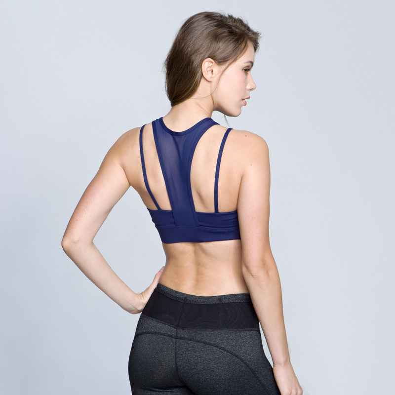 防震健身文胸女跑步运动背心胸衣高强度聚拢瑜伽内衣bra 发货周期:一般在付款后2-90天左右发货,具体发货时间请以与客服协商的时间为准