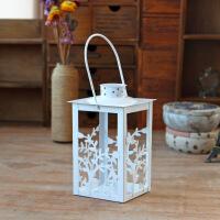物有物语 烛台 欧式复古金属铁艺烛台摆件 创意家居婚庆装饰品节日气氛布置用品