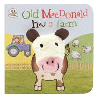 原版进口Little Learners Old MacDonald had a Farm 麦克唐纳爷爷 经典童谣英语指