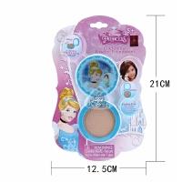 儿童化妆粉饼 公主过家家玩具女孩演出化妆品宝宝彩妆