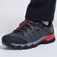 探路者徒步鞋 秋冬款户外男式透气耐磨登山鞋KFAF91352